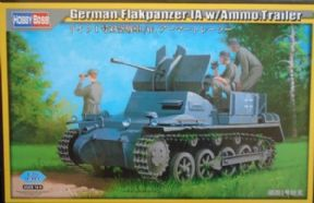 HBB80147 1/35 Flakpanzer 1a with Ammunition Trailer